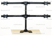 "EZM Deluxe Hex Monitor Mount Free Standing up to 28"" (002-0023)"