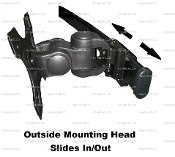 EZM Deluxe Side Mounting Head Kit with Slip Set (002-002S)