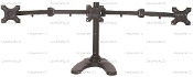 "EZM Triple Monitor Mount Stand Free Standing up to 24""(002-0033)"