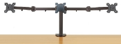 "EZM Triple Monitor Mount Stand Desktop Clamp up to 24""(002-0010)"