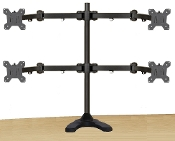 "EZM Articulating Quad Mount Free Standing Up to 27"" (002-0028)"