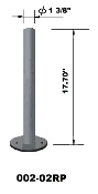 "EZM Free Standing 1 3/8"" Diameter Pole 17.70"" H (002-02RP)"